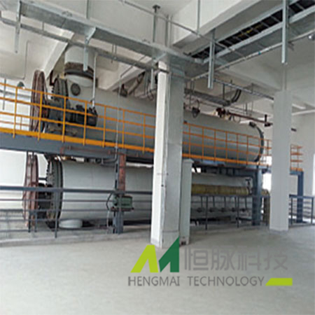 Horizontal tube continuous cooking system of Anhui Geyi Biorefineries Industrial Park Ltd.